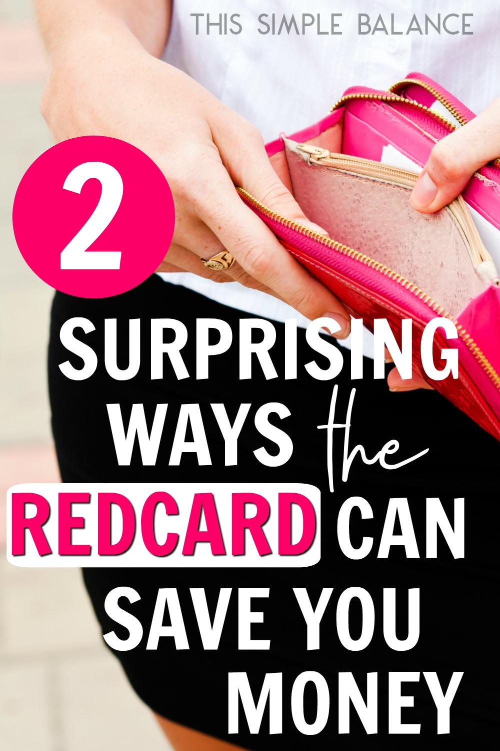 How can a Target REDCard SAVE you money?? 2 Surprising ways it can help parents with young children especially.