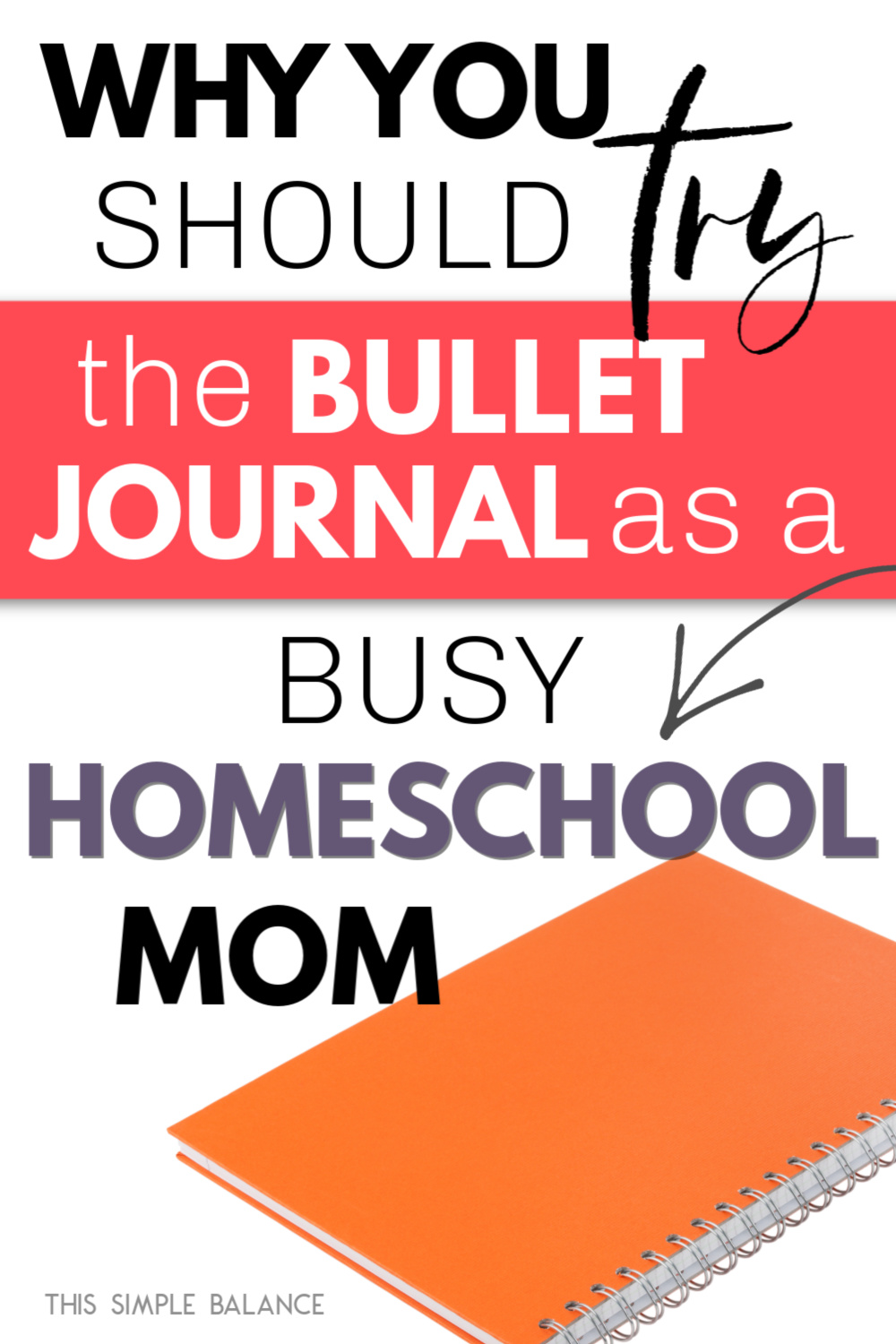 bullet journal for homeschool moms
