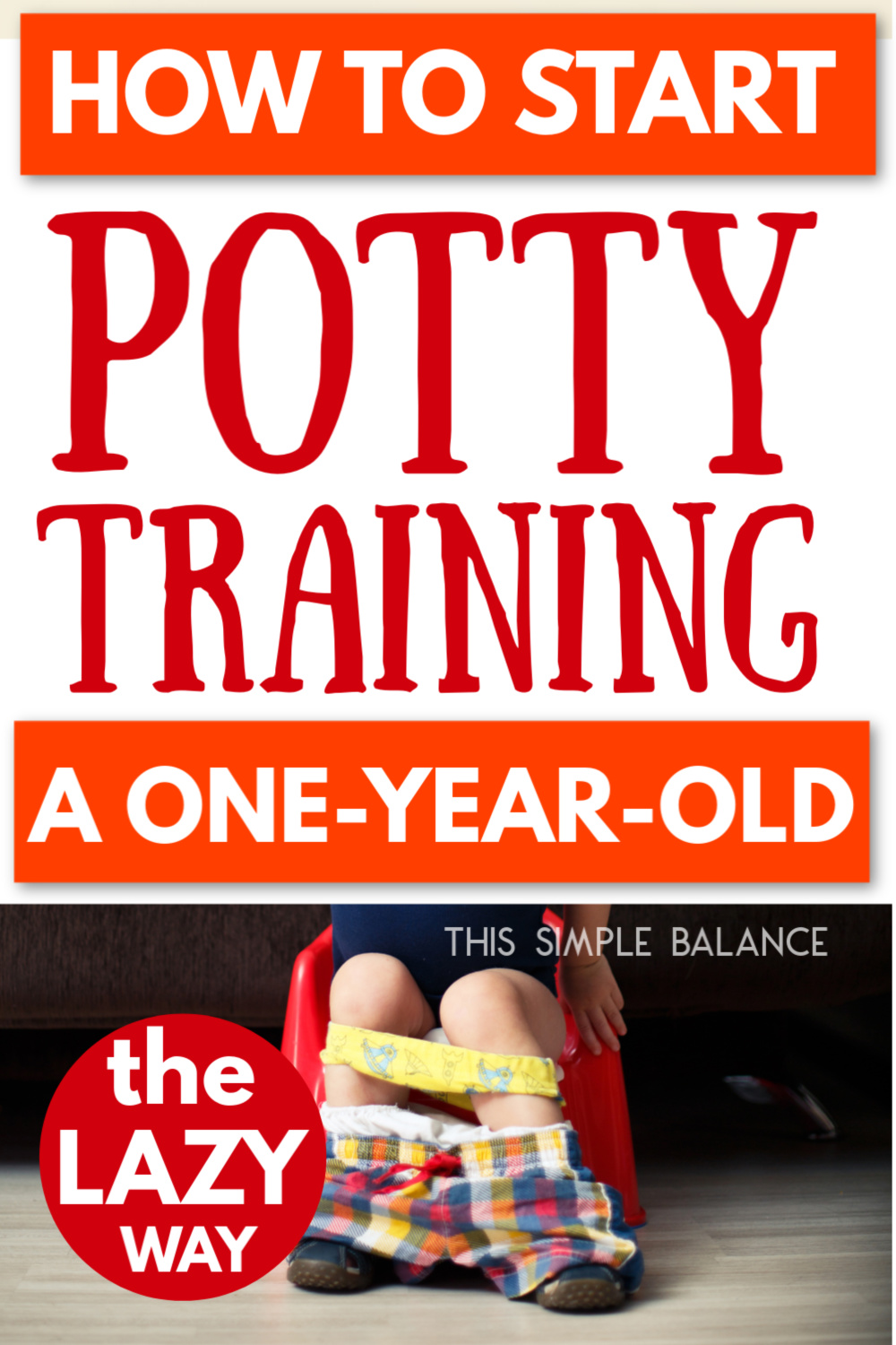 one-year-old potty training