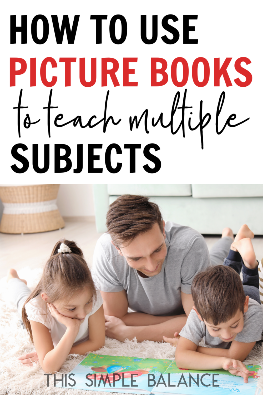 Homeschool Tips: How to Teach Multiple Subjects with just one Picture Book