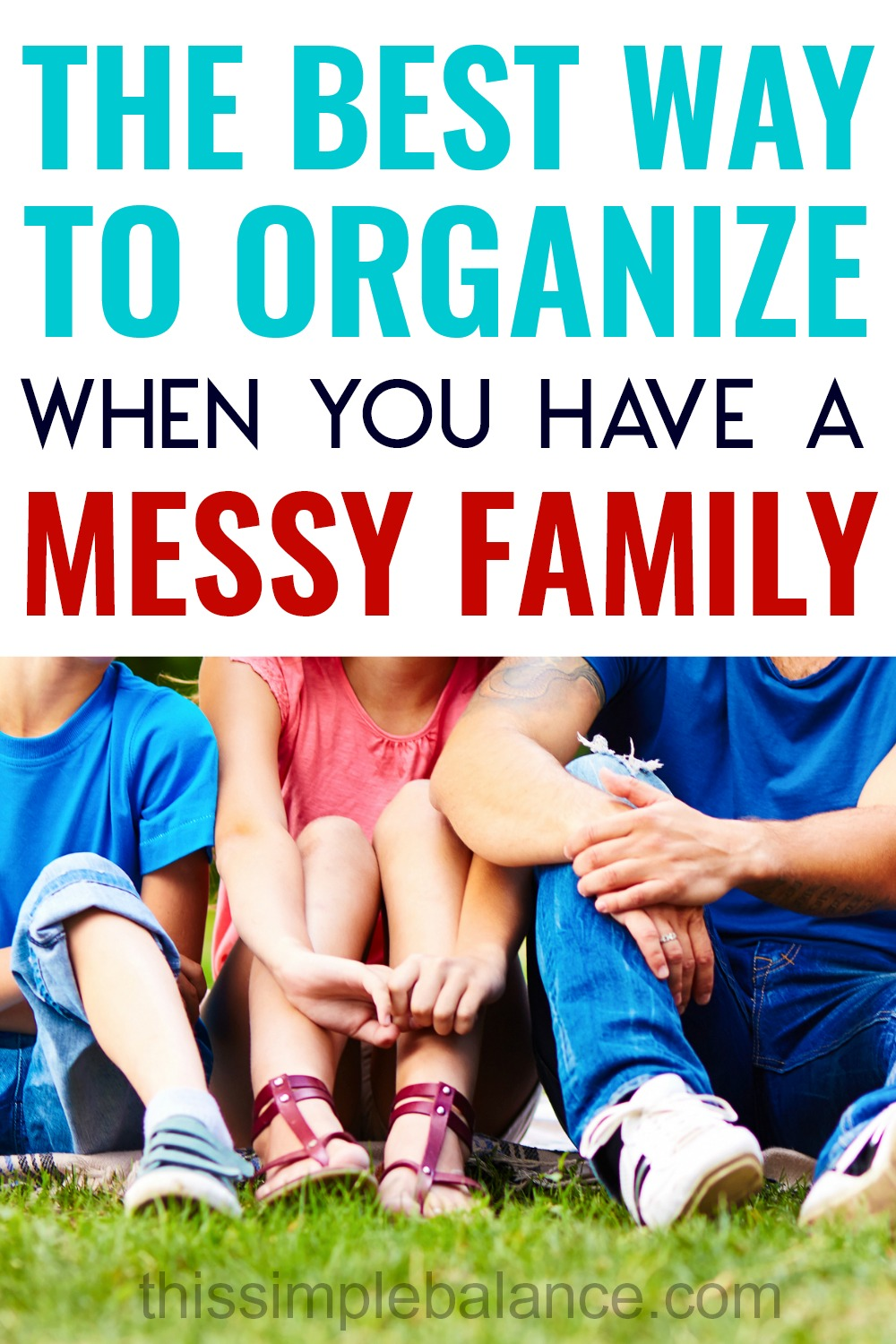 Organization ideas for the home when you have kids (and maybe a husband) who won't work with your systems. Tips and tricks for choosing the best organization systems they can follow. #organization #organizationwithkids #cleaning