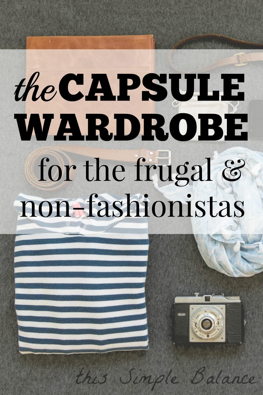 frugal capsule wardrobe