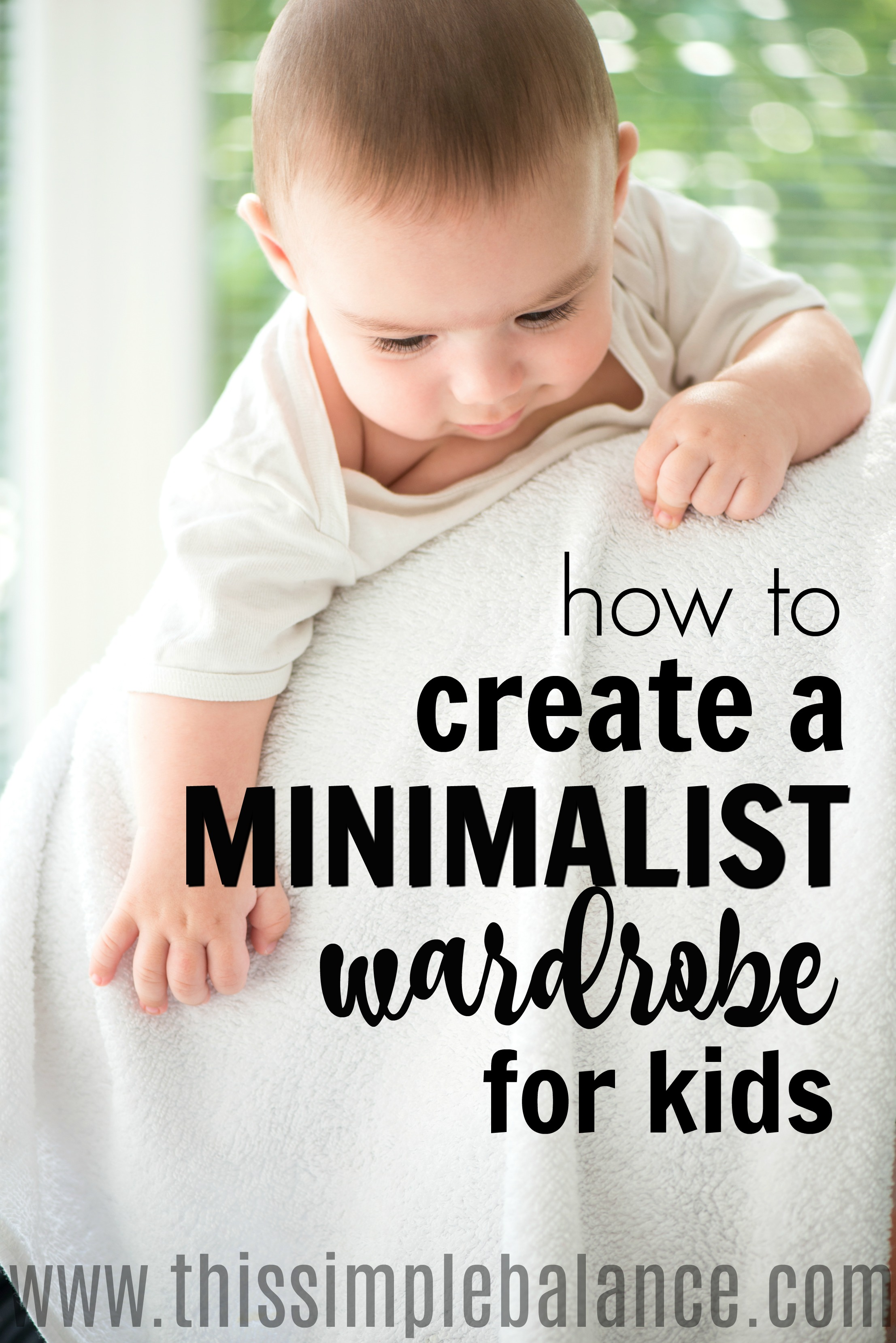 Tired of you (or your child) digging through their drawers trying to find something that matches? Tired of battles over mismatched outfits your child loves and is proud of, but you just can't bear to be seen in public with? I was, too. Try these simple tips for creating a capsule wardrobe for kids - inexpensively! #minimalist #minimalismwithkids