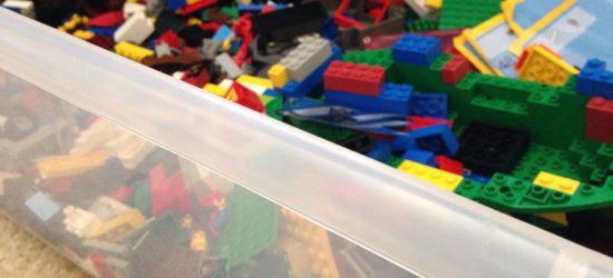 lego, lego storage, lego bin, organize legos, organize blocks