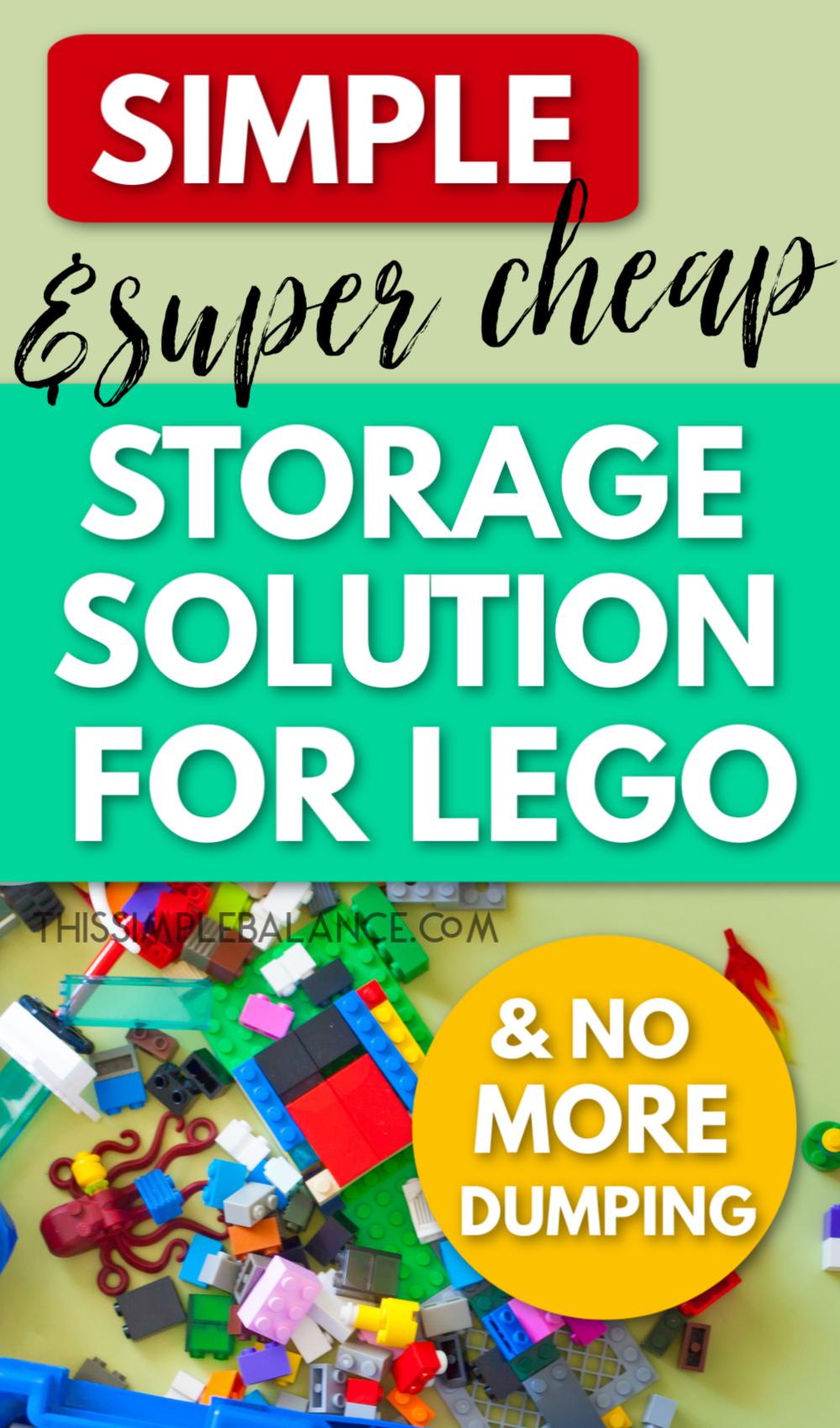 Storage Solution for legos