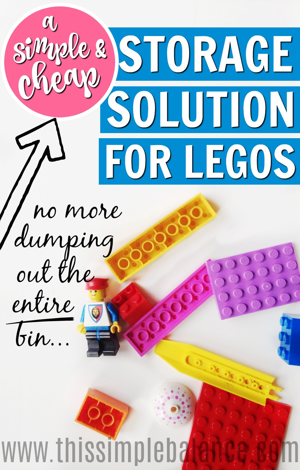 LEGO Storage | LEGO Organization | Best Way to Organize LEGOS | Cheap LEGO Storage Solution | Simple LEGO Storage | How to Store LEGOs
