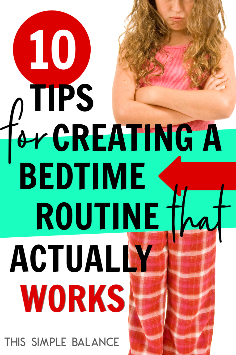 Trying to create a night routine for kids that makes bedtime not take FOREVER? Try these 10 tips to make bedtime a little less chaotic.