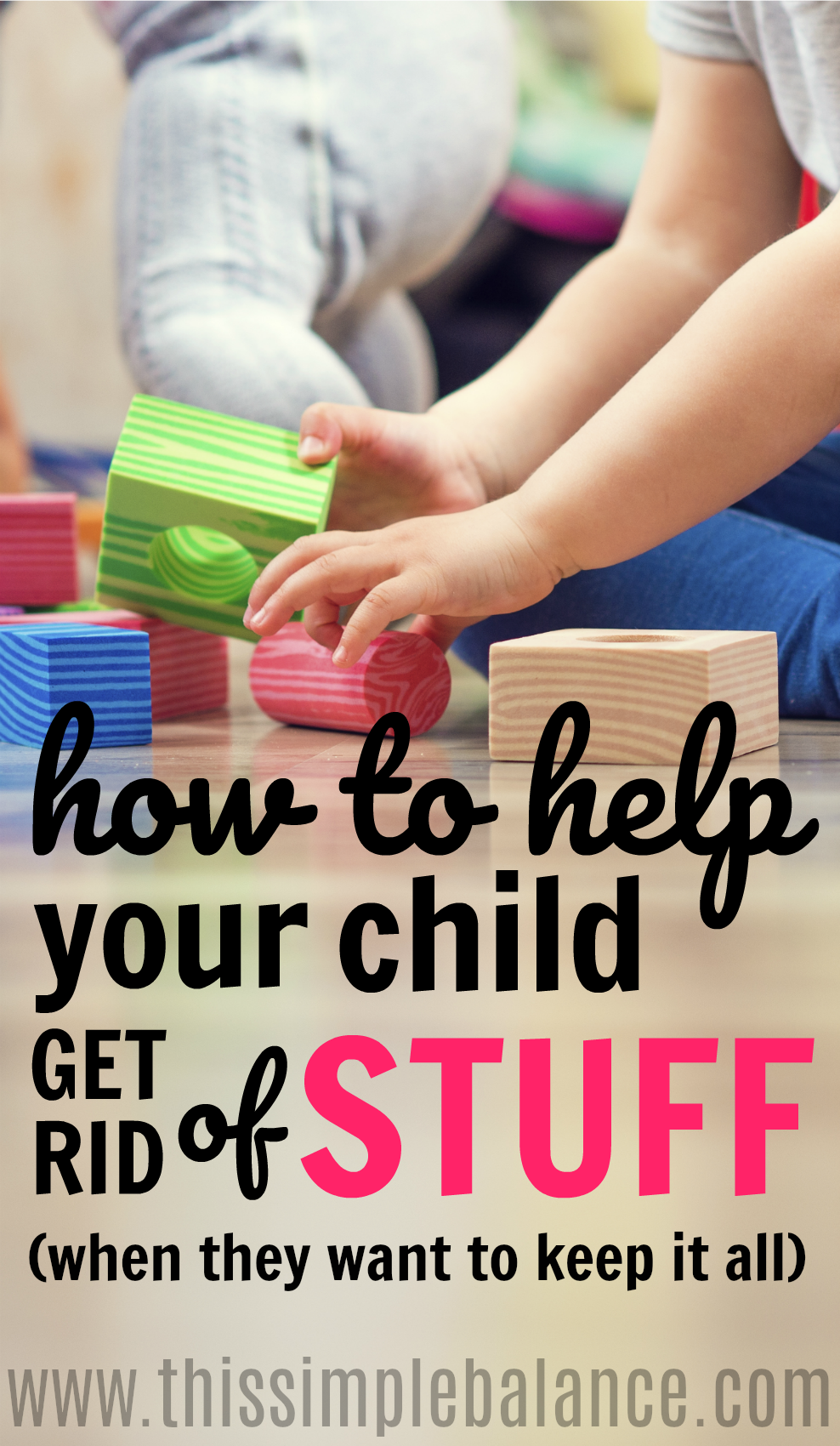 How To Declutter With A Sentimental Child This Simple