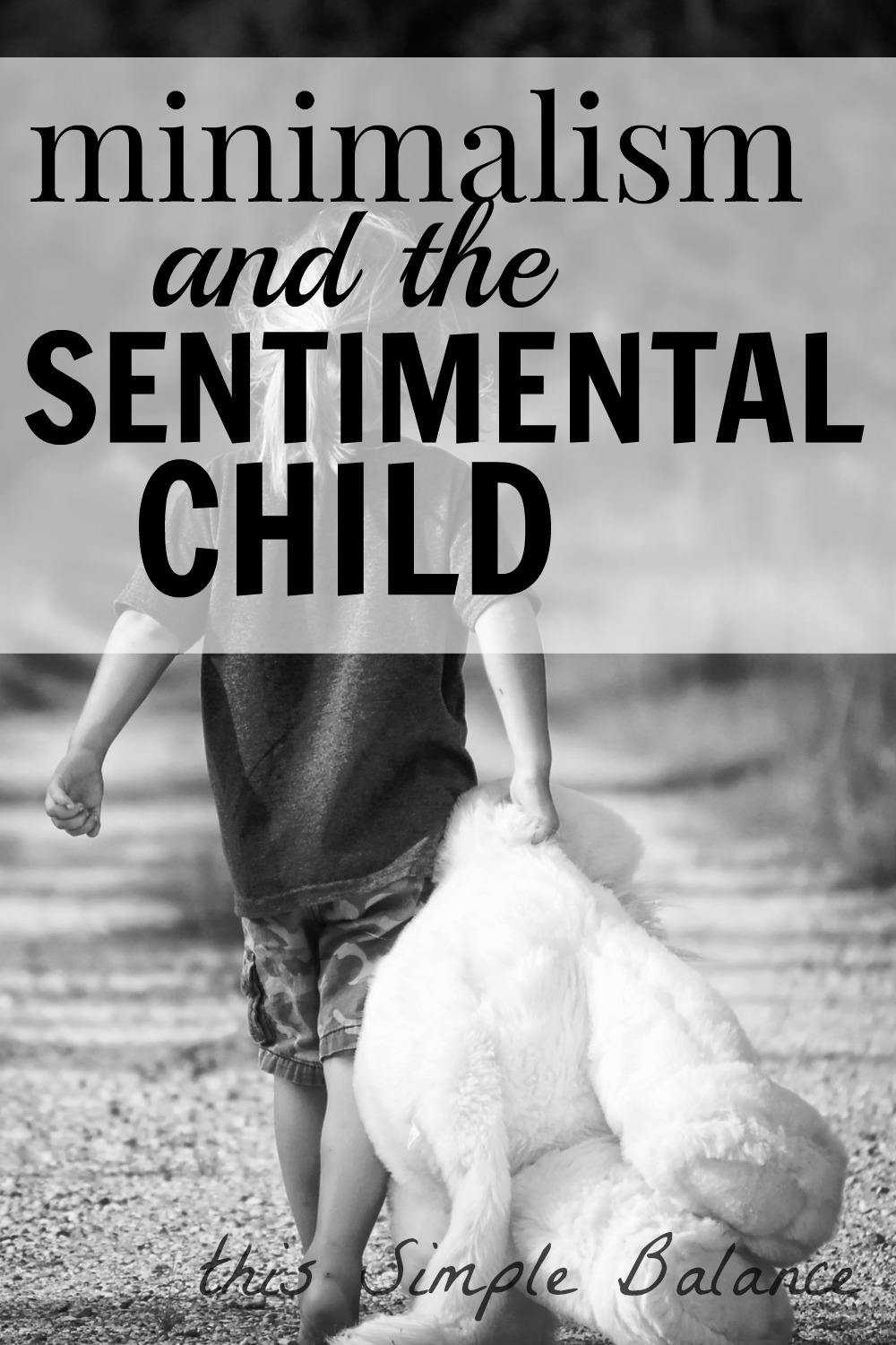 how to declutter with a sentimental child, decluttering sentimental child, minimalism sentimental child