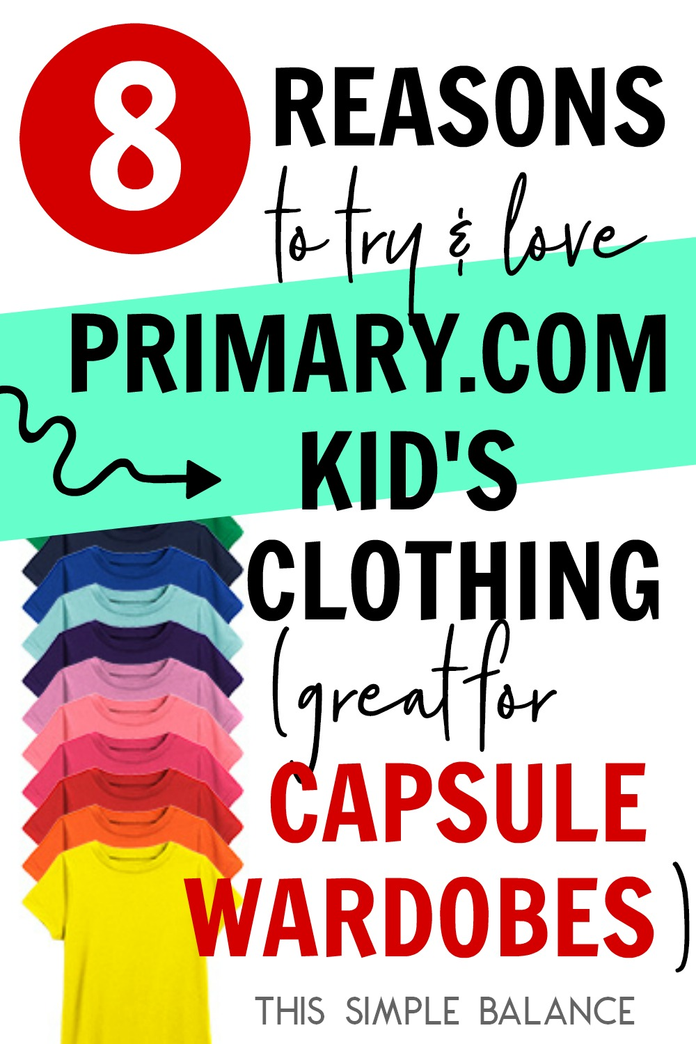 Primary.com kids' clothes have been the perfect fit for my daughter - great for easily creating capsule wardrobes, ditching ridiculous slogans and graphics, and accommodating kids who hate tags and seams in inconvenient places.