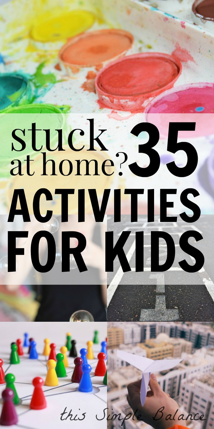 activities for kids, at home activities for kids