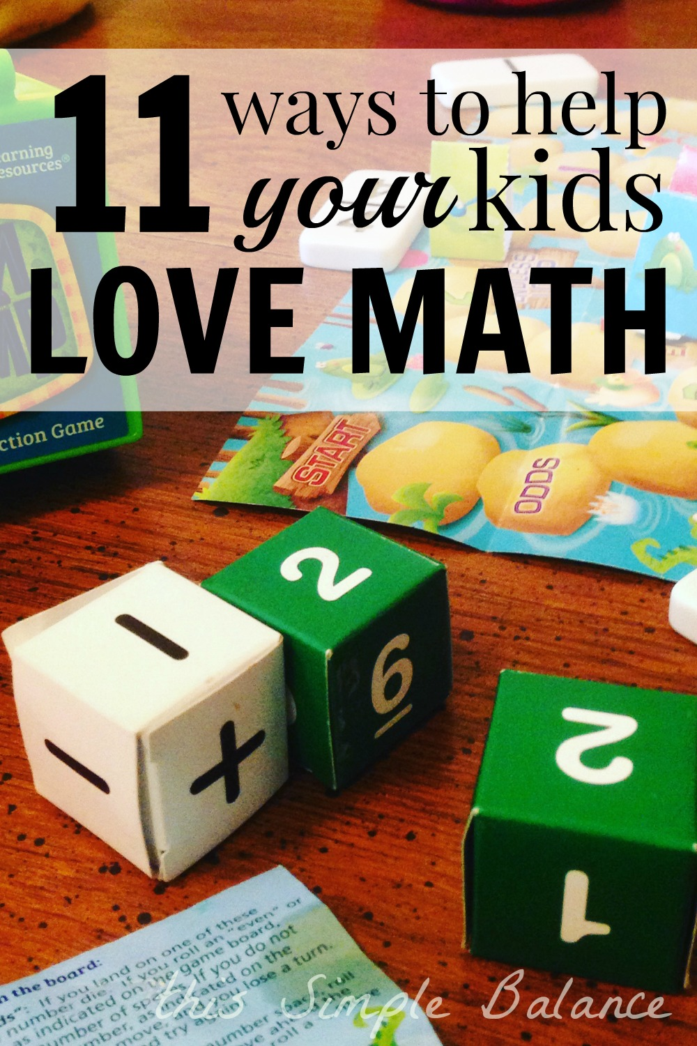 how can i help my kids love math, what to do if i hate math