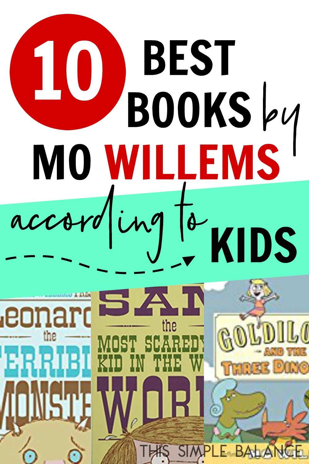 The Best Mo Willems Books (according to kids)