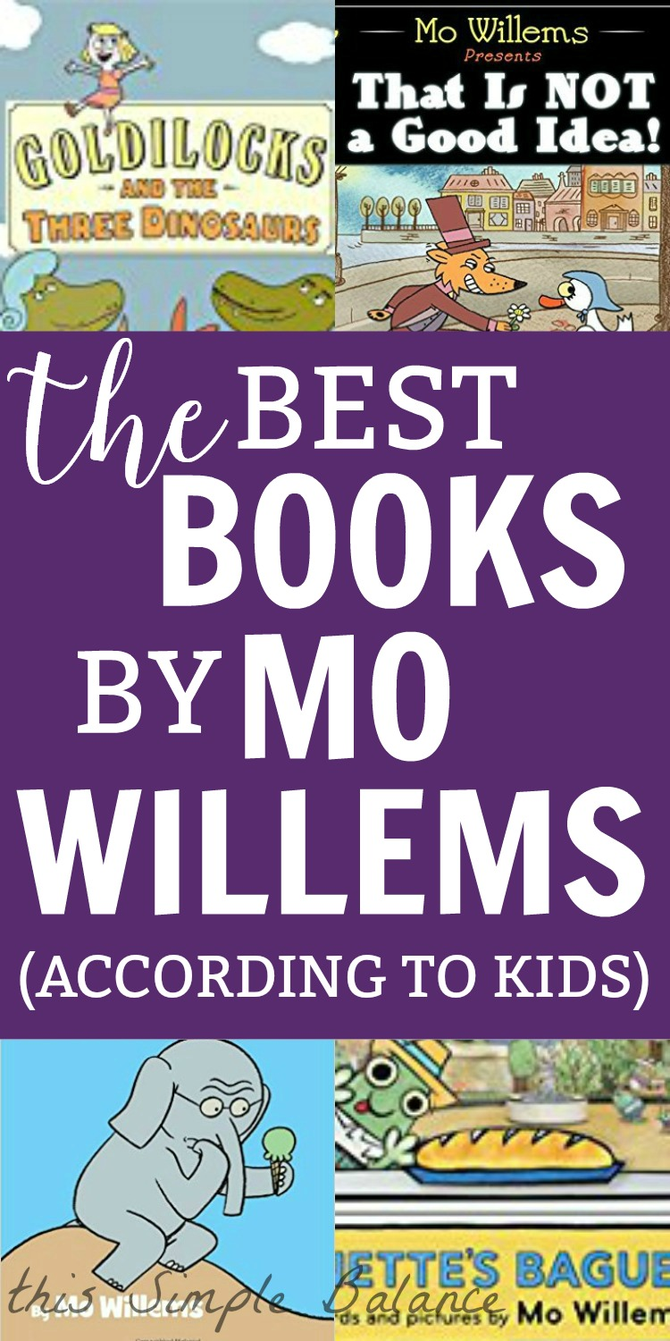 Mo Willems Books for Kids - 10 books my kids read and loved (only one Elephant and Piggie book!)