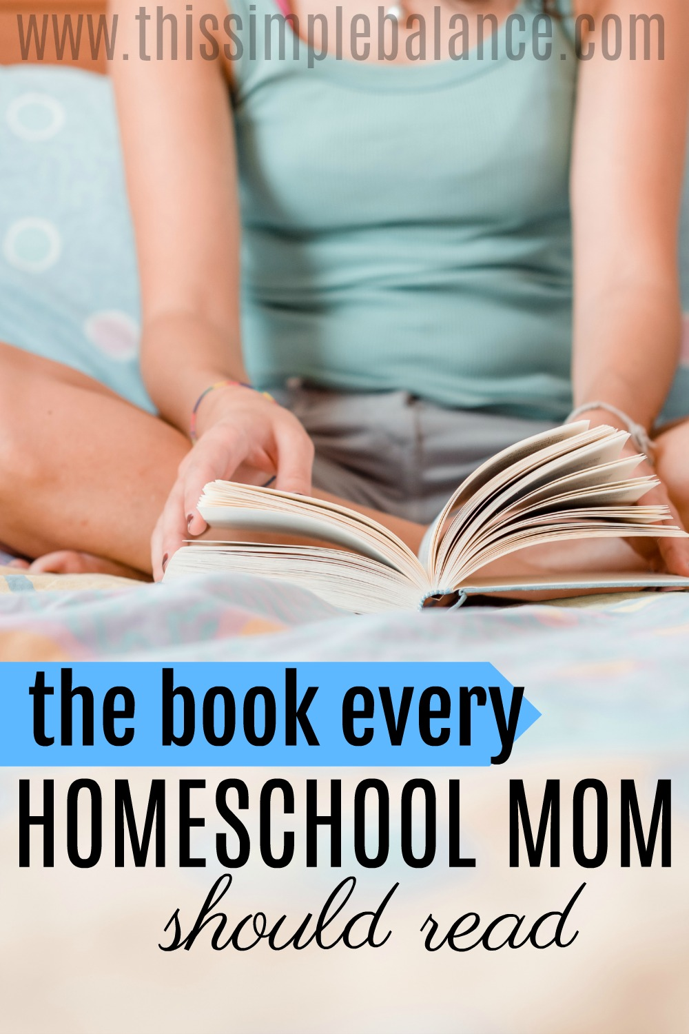 Do you need a quick, inexpensive homeschool book for moms to help you answer the two most important questions every homeschool mom needs to answer? Learn what book I read over and over again this past homeschool year and why you should consider reading it, too.