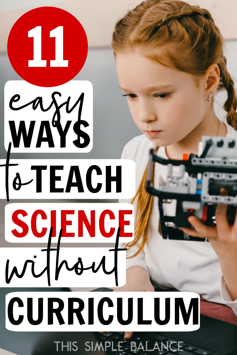 How to Homeschool Science without Curriculum: 11 Super Simple Ideas for Crossing Science off your homeschool stress list!
