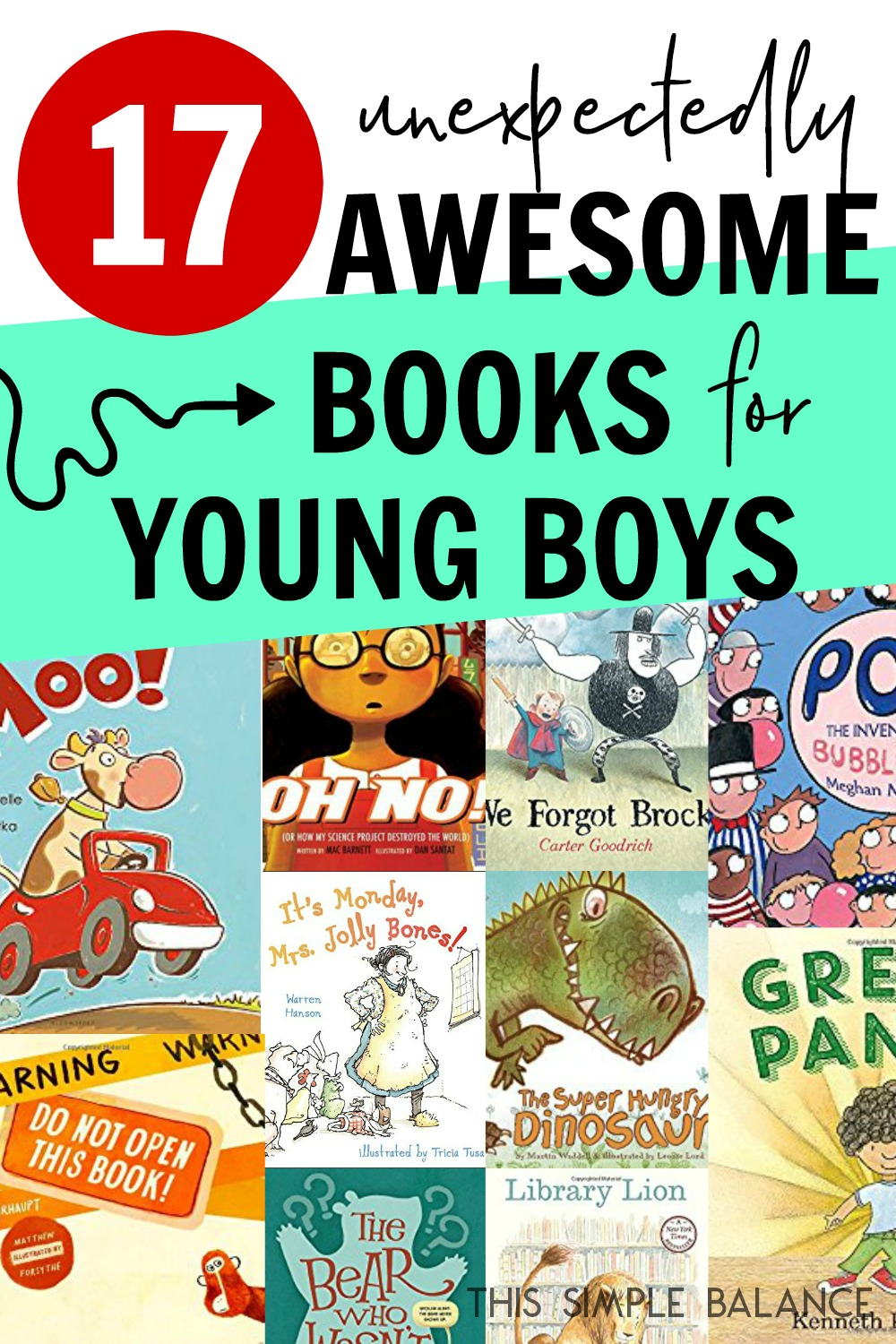 Looking for books your young boys will love? These are all favorites of my boys (ages 4-8)!
