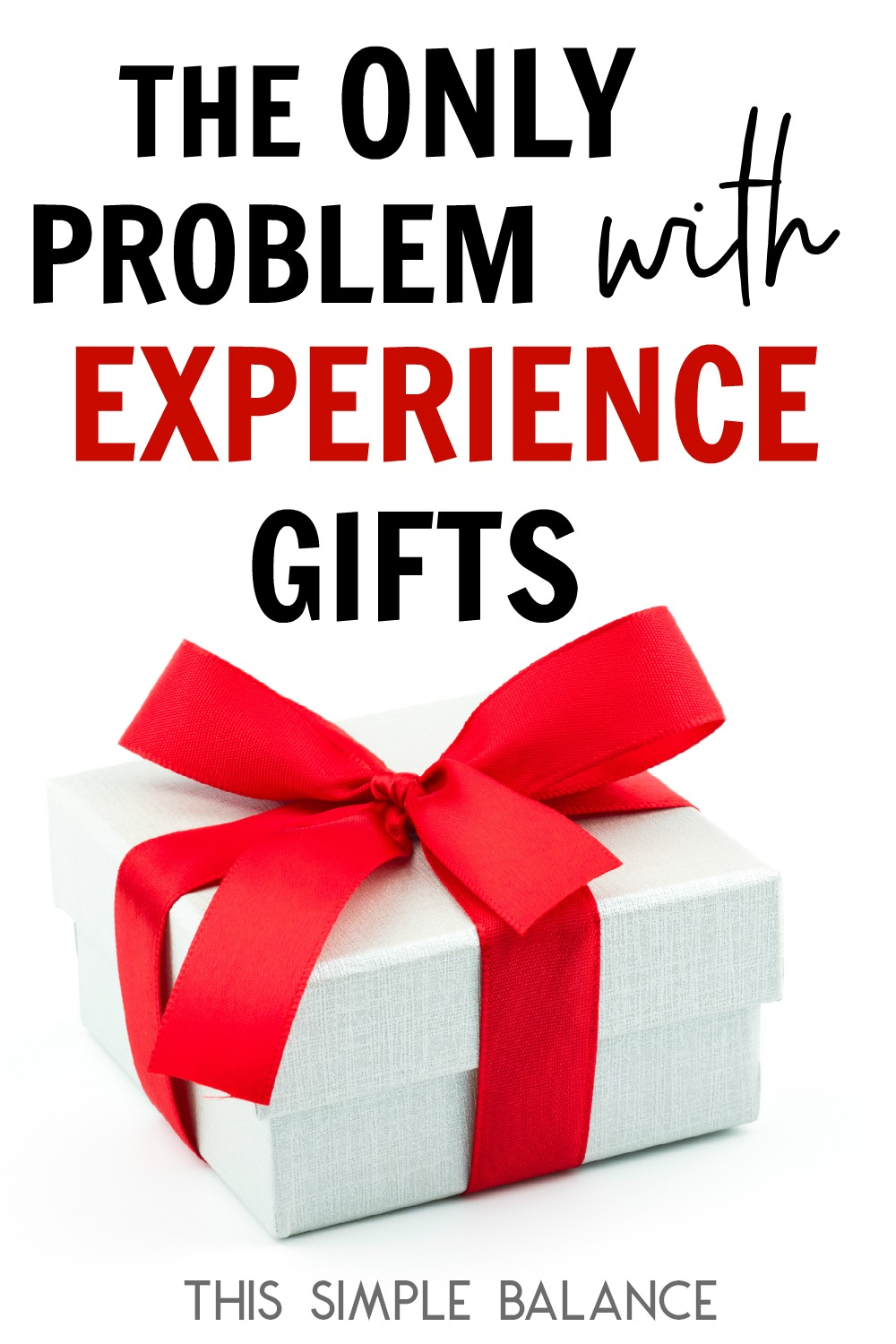 Experience Gifts | Minimalist Christmas