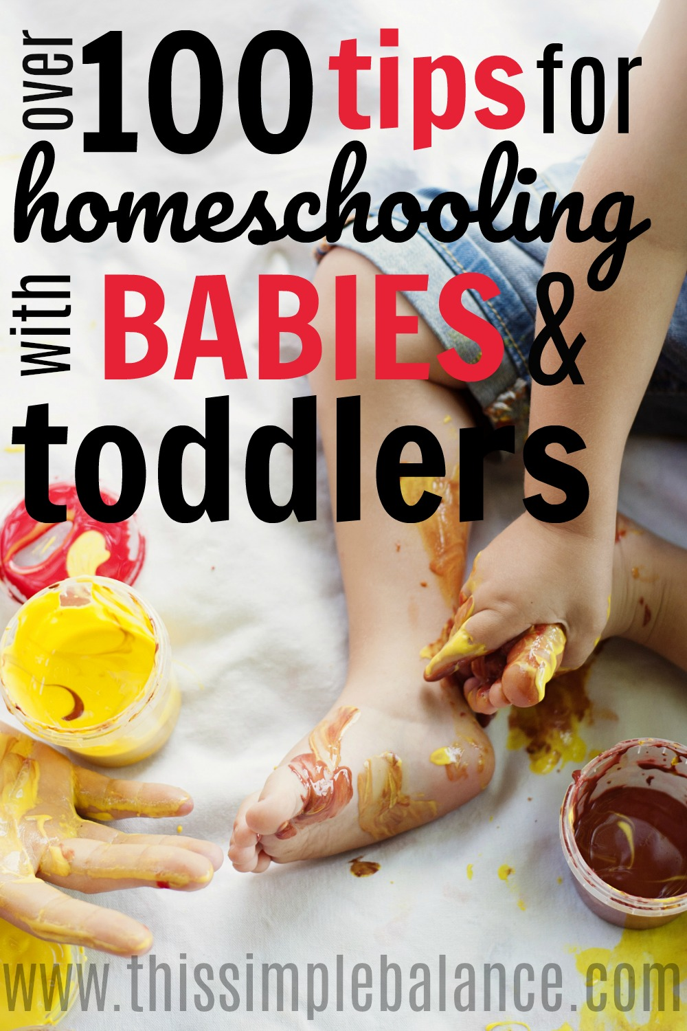 Homeschooling with Babies & Toddlers: It can feel impossible, but all these awesome tips from all sorts of different families and personalities all in one place is SO helpful! Pinning for this school year.
