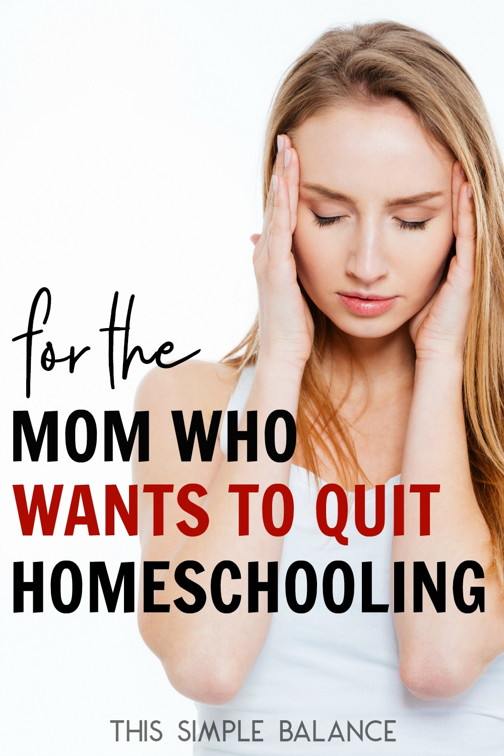 Want to quit homeschooling and don't know where to turn? You need to read this.