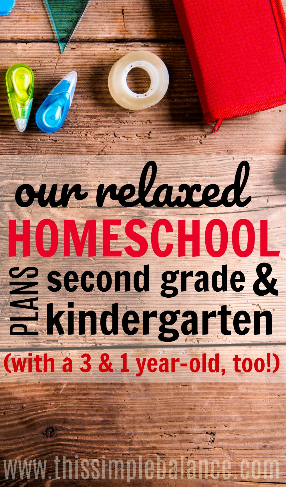 If you are going to homeschool second grade (with a kindergartener along for the ride), get ideas for 2nd grade homeschool curriculum, schedule and more! (from a relaxed homeschooling perspective)