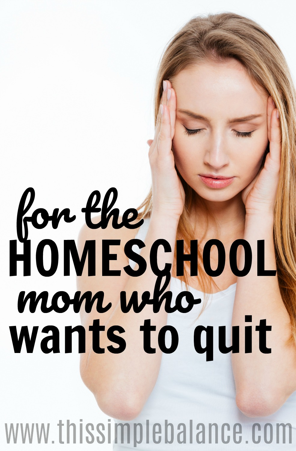 If you've ever thought of quitting homeschooling, this homeschool encouragement is for you.