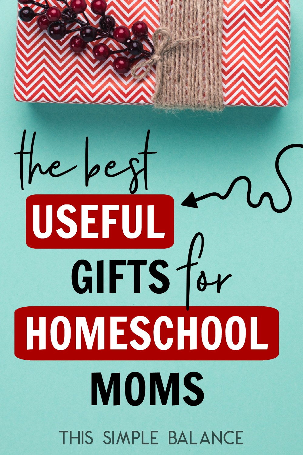 The best useful Christmas gift ideas for the homeschool moms.