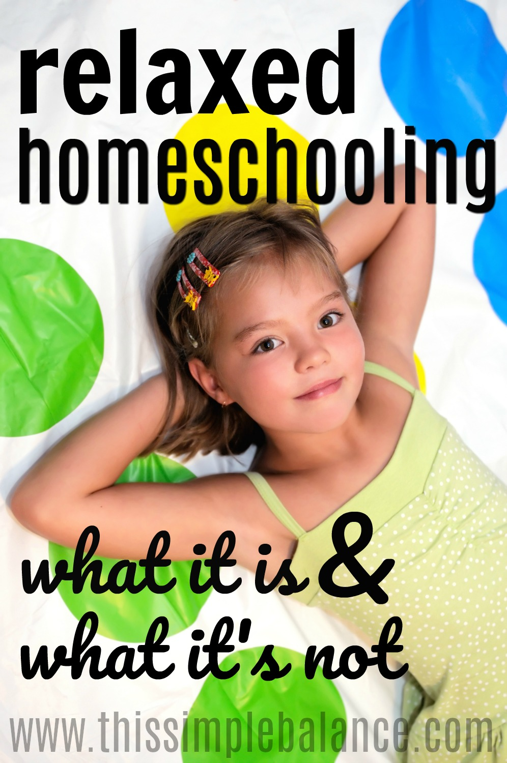 Relaxed Homeschooling: A homeschool style that's rarely talked about and often misunderstood. This post clearly defines relaxed homeschooling and how it differs from eclectic homeschooling and unschooling.