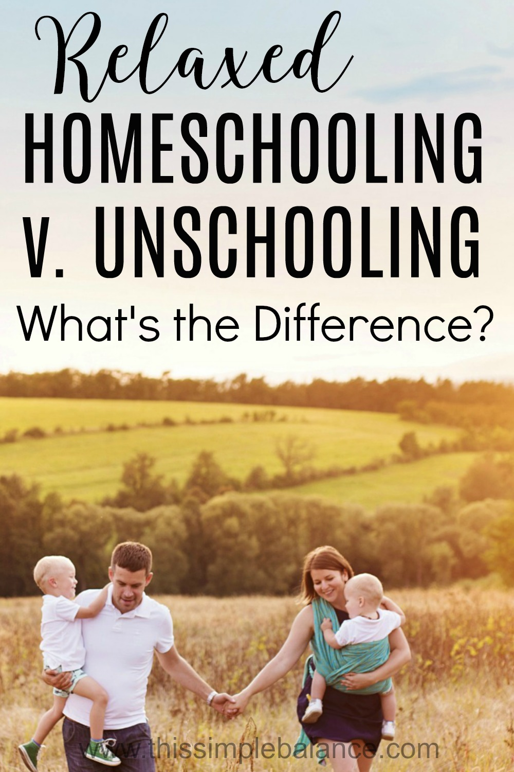 Relaxed Homeschooling and Unschool seem like the same thing, but they're really not. Get one homeschool mom's take on the key difference that many relaxed homeschool moms miss.