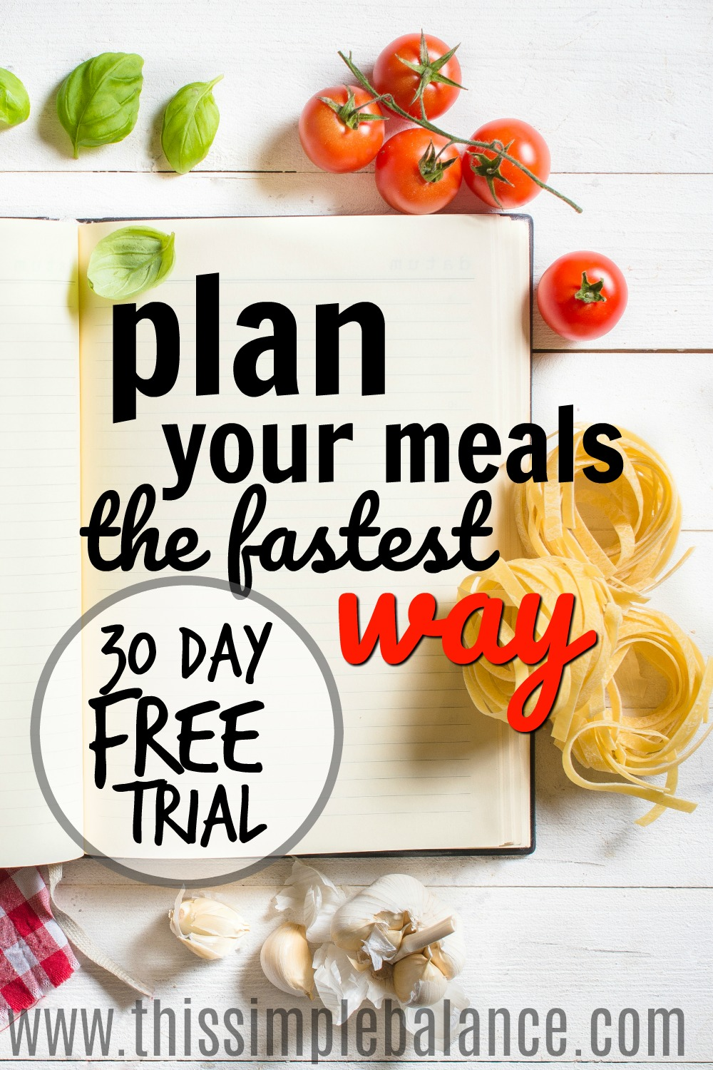 Do you dread meal planning? Does it take you forever to put together your weekly meal plan and shopping list? Check out this meal planning tool that will make meal planning so simple you might actually look forward to it!