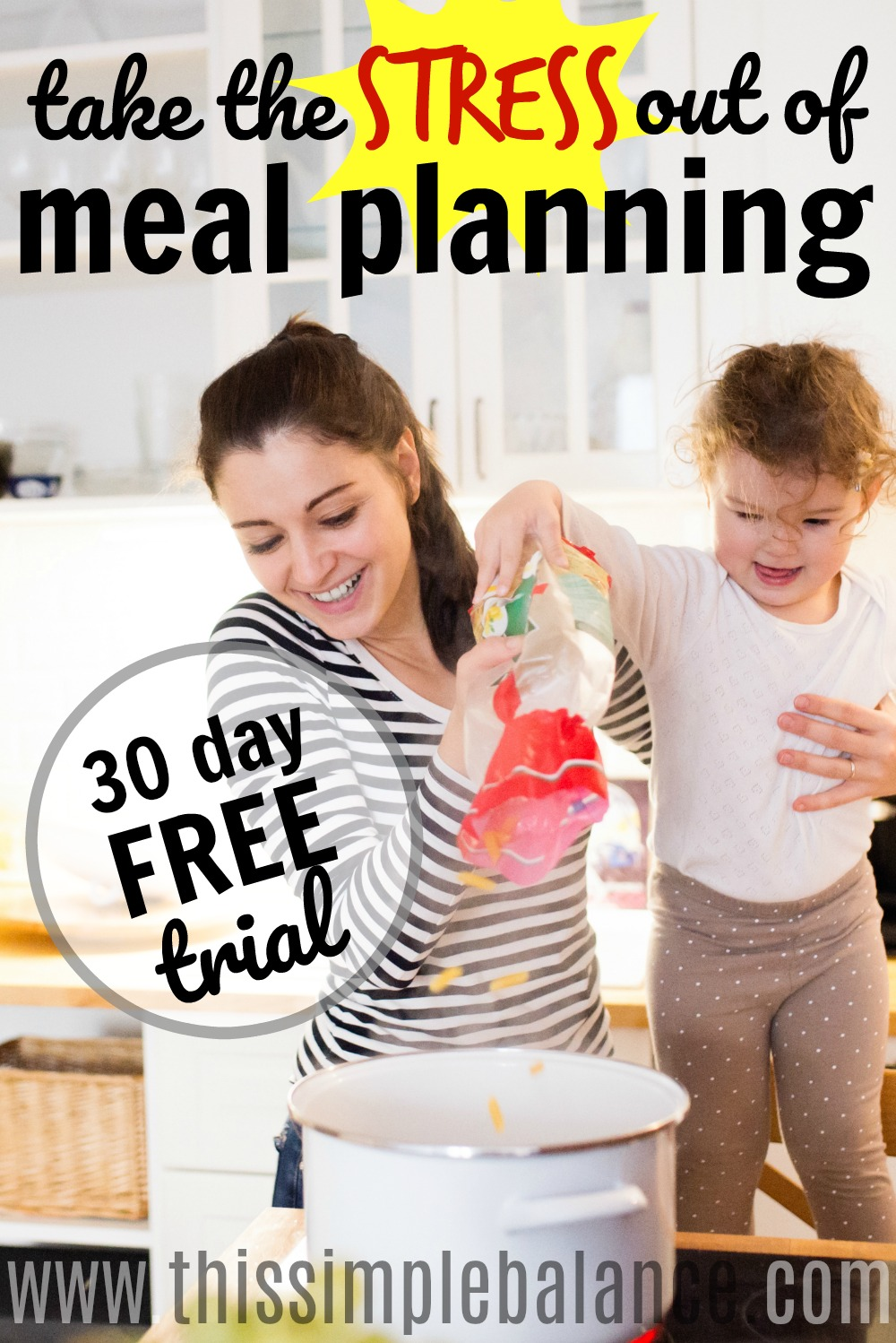 Do you dread meal planning? Does it take you forever to put together your weekly meal plan and shopping list? Check out this meal planning tool that will make it so simple to plan your meals every single week!