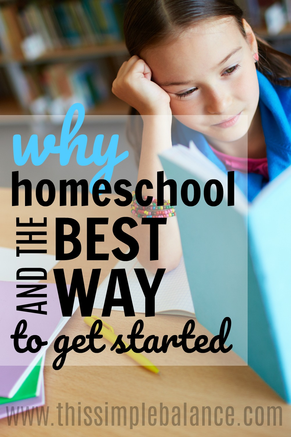 Why Homeschool: I've never thought about some of these reasons as good reasons to homeschool. This really helped me to think through whether homeschooling is a good educational option for our family and helped me know how to get started homeschooling!