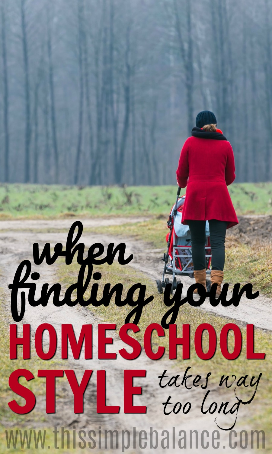 Finding your homeschool style doesn't always come easily. As homeschool moms, we can get SO discouraged when our first year homeschooling doesn't click...or the second or the third... Encouragement for the #homeschool mom | #homeschooling