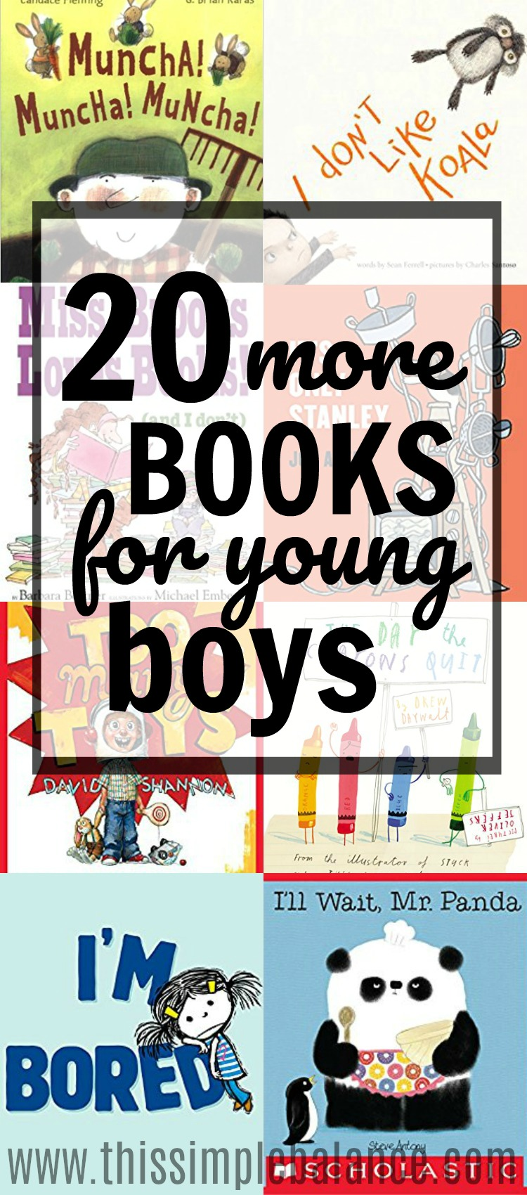 Looking for great books for boys? Finding the best picture books can be so frustrating! Try these: they made my boys laugh out loud!