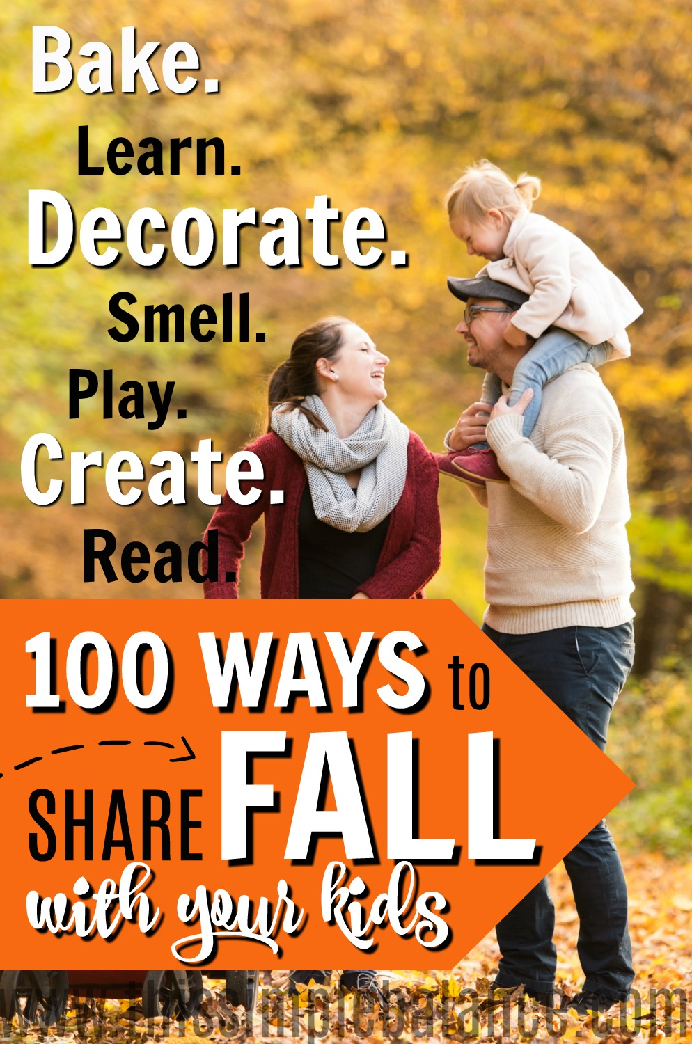 Do you absolutely LOVE fall - like get just as excited for fall as you do Christmas? If you want your kids to love fall as much as you do, check out these fall recipes, books, crafts, decorations and SO MUCH more. Over 100 things (a fall bucket list, if you will) to make absolutely sure your kids LOVE fall. #fall