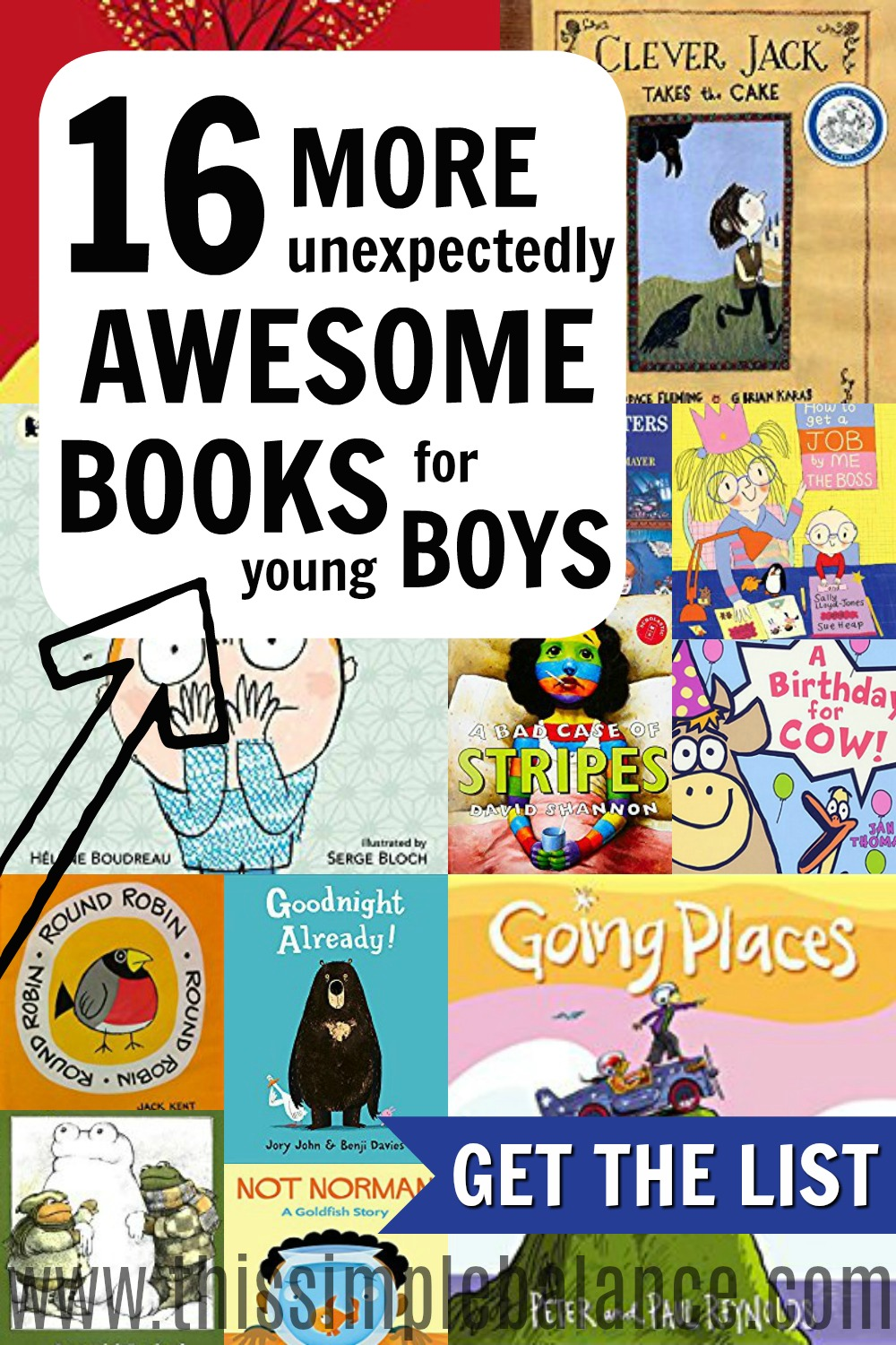 Do you love reading to your young boys but have a hard time choosing books they will really love? These 16 books are books my boys asked for OVER and OVER again. They loved these books! Plus, you can get a convenient, printable list to take with you to the library. Don't waste your time on mediocre books when you can be reading great ones you KNOW your boys will love. #booklists #booksforyoungboys