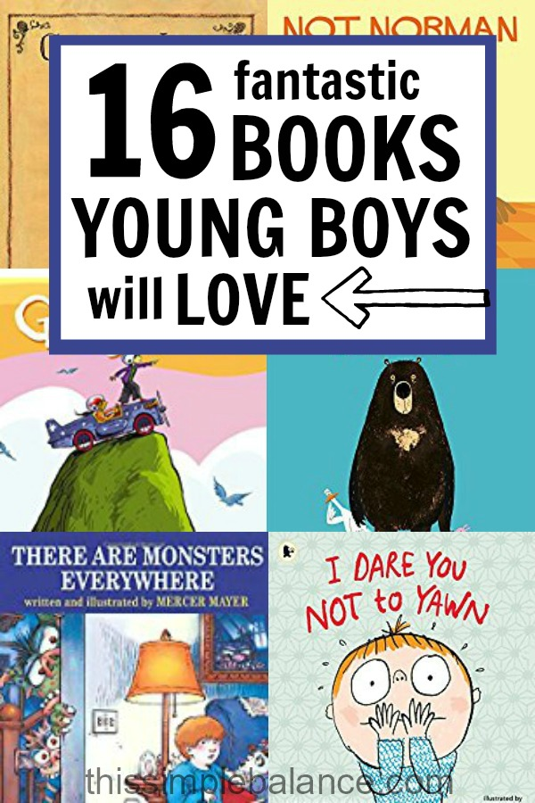 Books for Boys: funny and profound books your young boys will love!