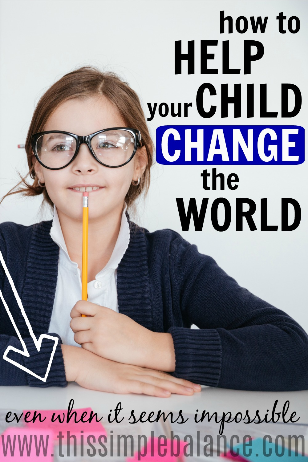 Has your child ever had a crazy idea for how she can change the world? Do you ever wonder as a parent how you can support her, even when the kind of change she's trying to make seems impossible (especially to our adult minds)? Get 4 simple tips on how to help your kids change the world, and help one specific child change the world, too! #parentingtips