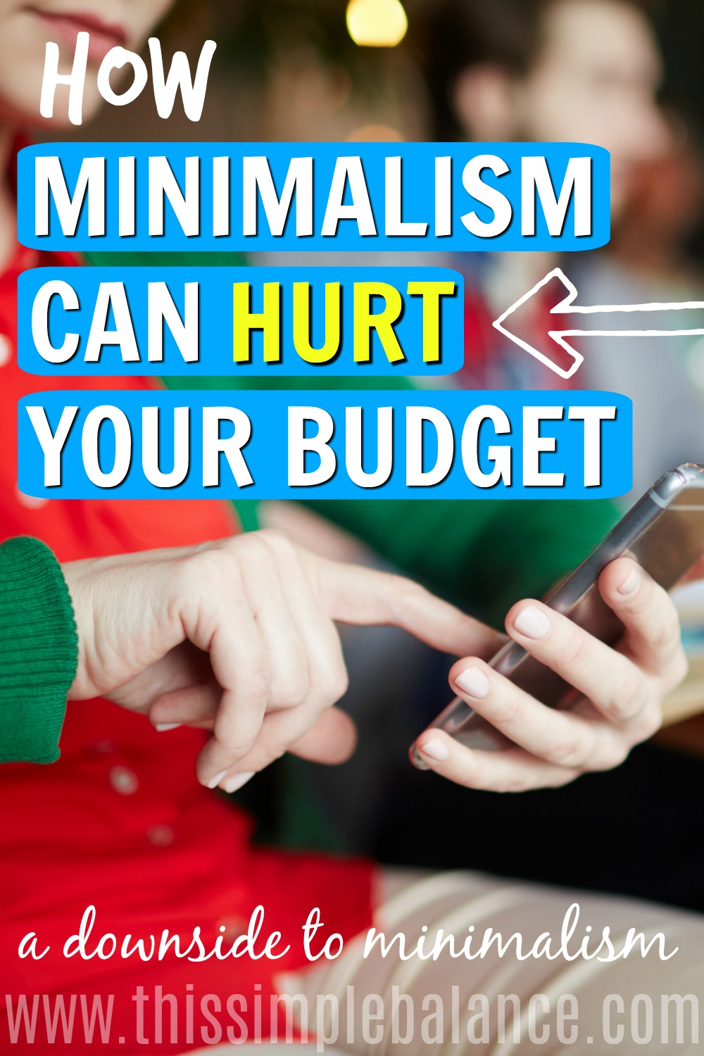 Minimalism claims to set people free from consumerism. But does it really? Get advice on how to handle struggling with consumerism even AFTER you've become a minimalist.