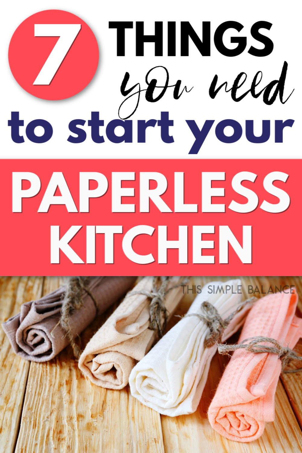 paperless kitchen dish towels
