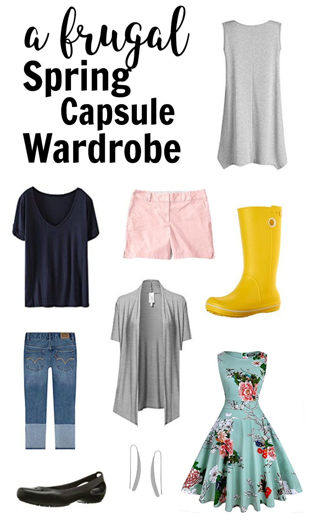 Building A Capsule Wardrobe How To Build Your Spring