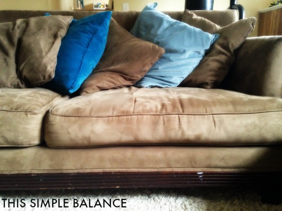 recover pillows for cheap decorating