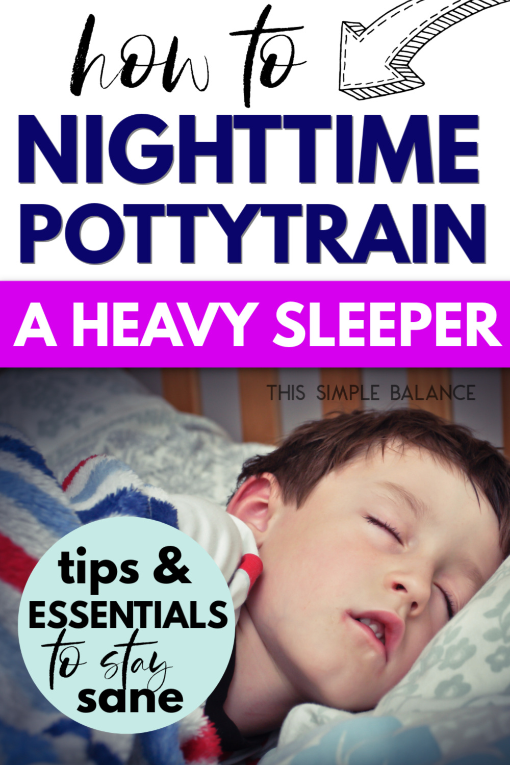 heavy sleeper - child trying to nighttime potty train