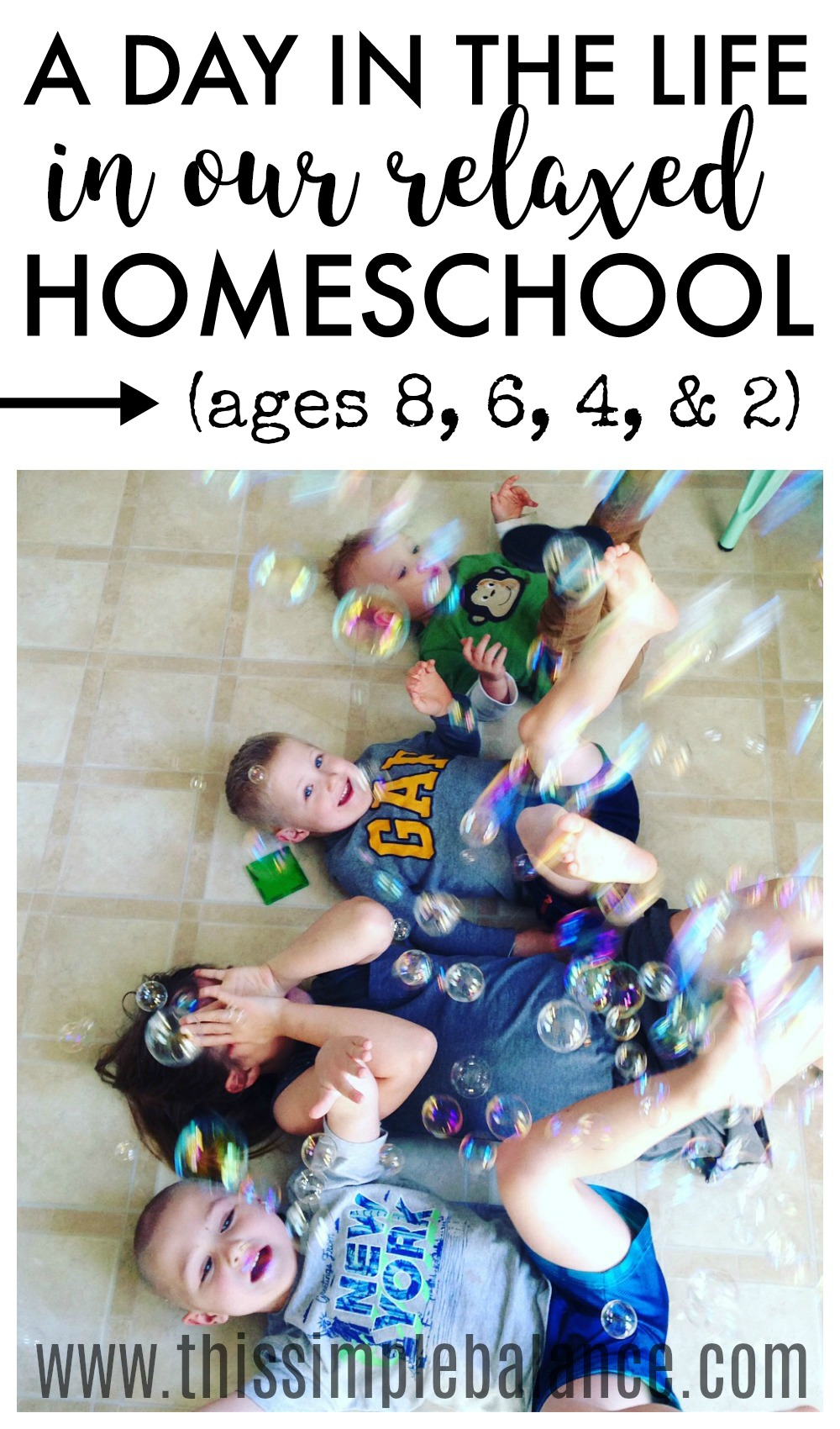 Want a peek into our relaxed homeschool? Get a glimpse of what relaxed homeschooling looks life for our family. #relaxedhomeschooling