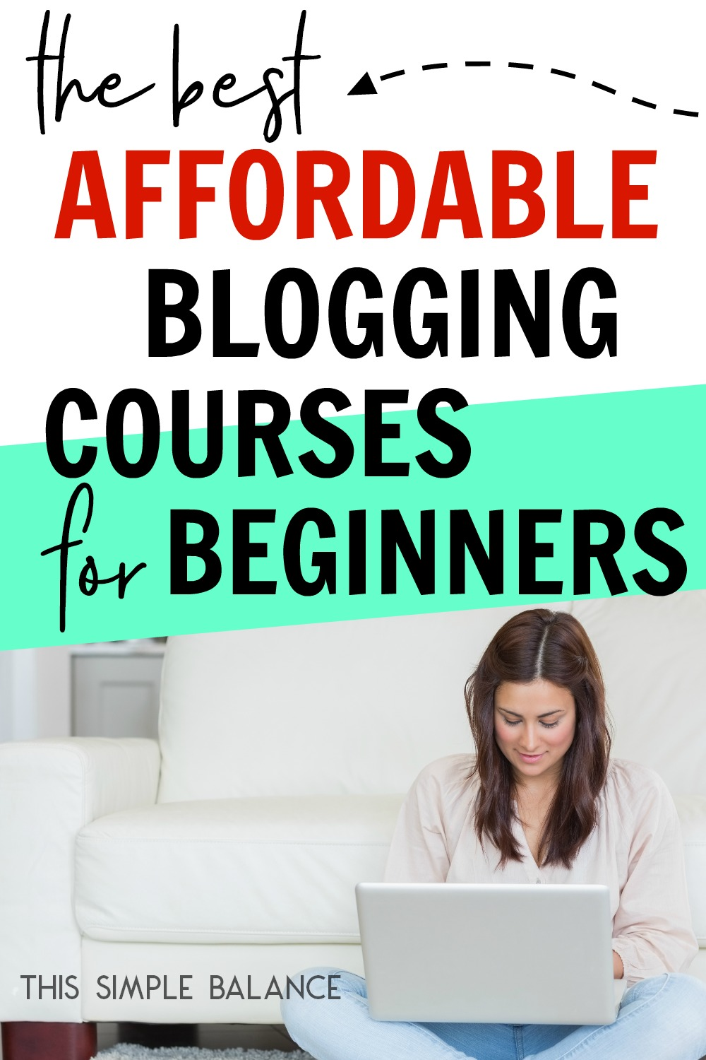 Expensive blogging courses you can't afford getting you down? These are hands down the BEST blogging courses you can buy that are actually affordable (less than $100 each - some as low as $20!).