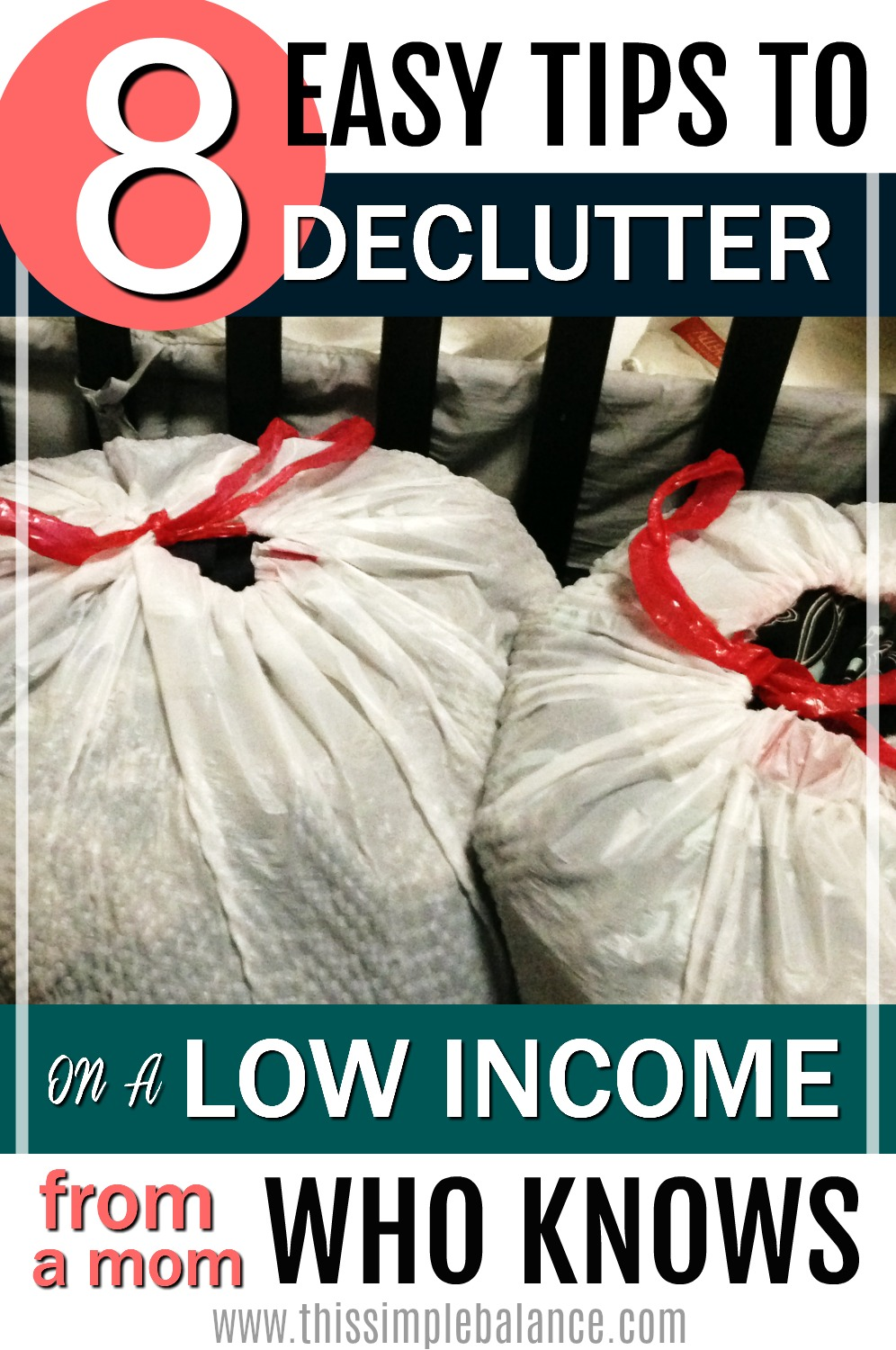 Decluttering on a low income | minimalist lifestyle