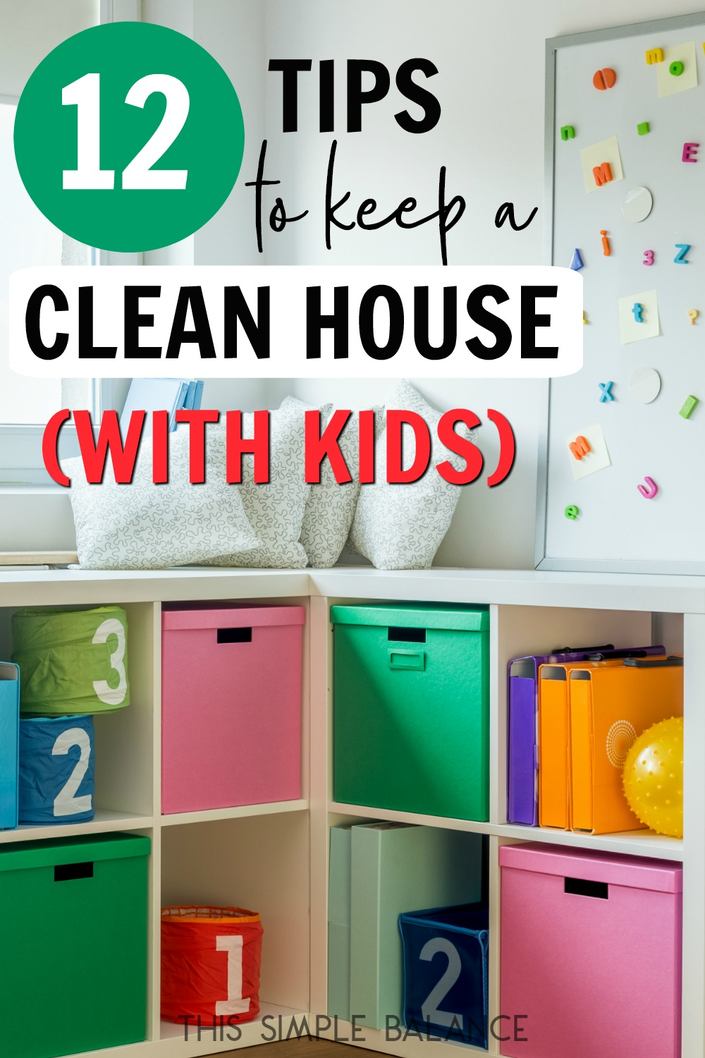 How to Keep a Clean House with Kids: because it's possible!