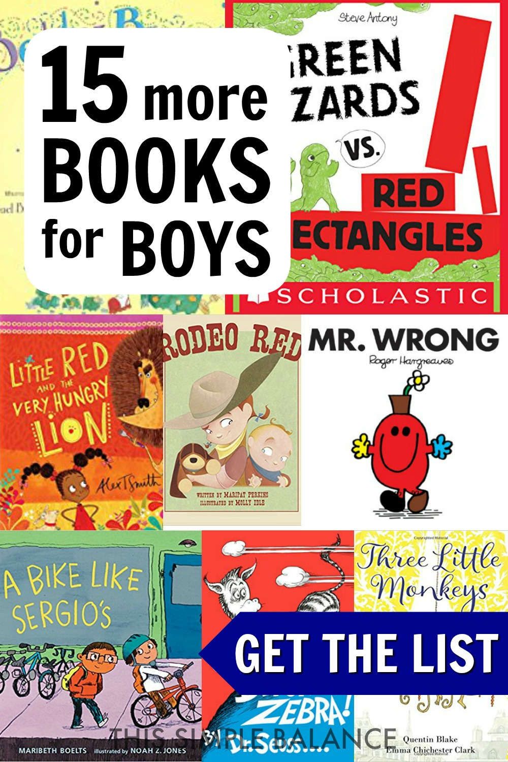Awesome books for boys. Fun and engaging picture books your boys (preschool, kindergarten, and ages 6-8) will love! #booklists