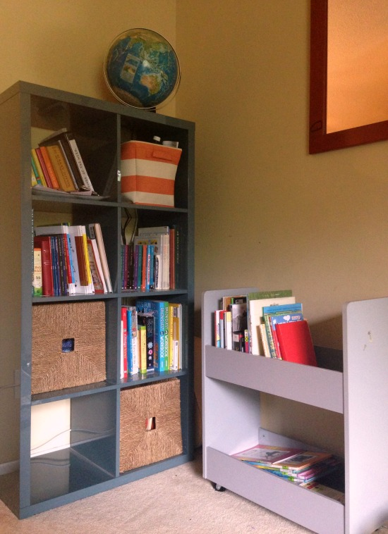 Homeschool Organization: Small Living Room