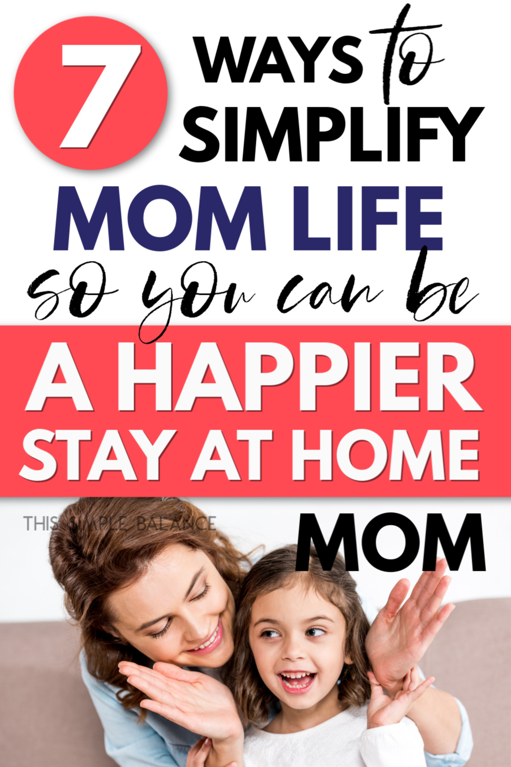 stay at home mom with daughter